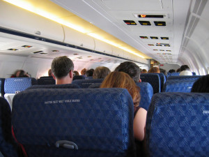 Sitting on an airplane can give you deep vein thrombosis