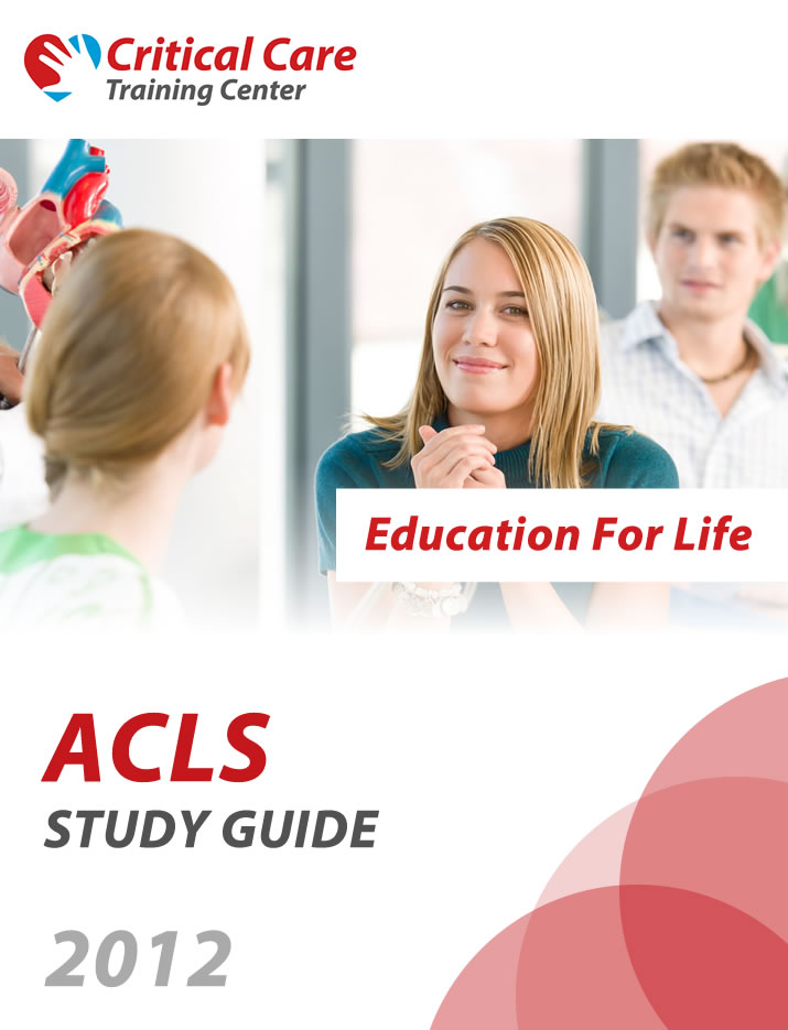 Acls Bls Pals Nrp Ecg Study Guides Critical Care Training
